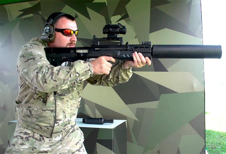 Assault rifle ShAK-12