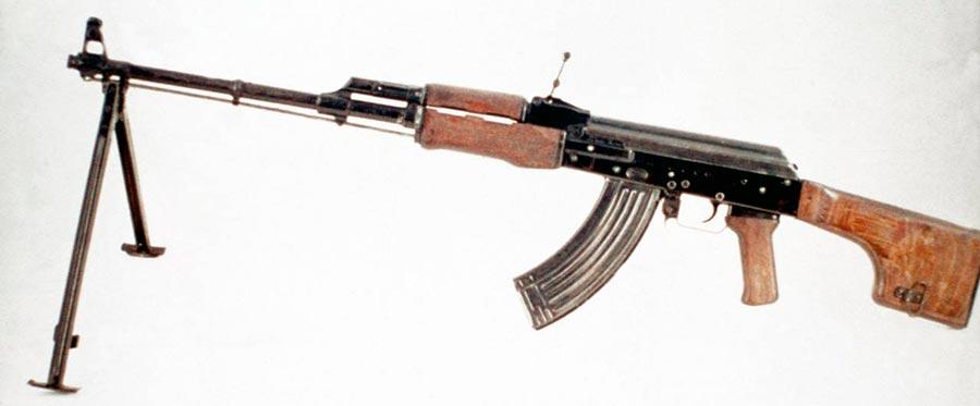 Ametralladora RPK 7.62 mm, 1961, Rusia-Unión Soviética