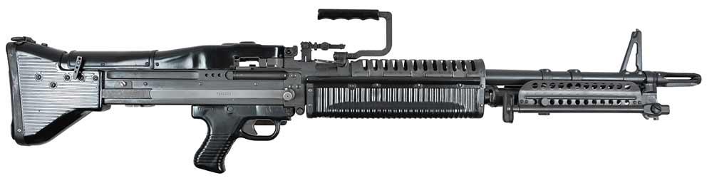 Ametralladora ligeras M60, 7.62x54 mm, 1960 (EE UU)