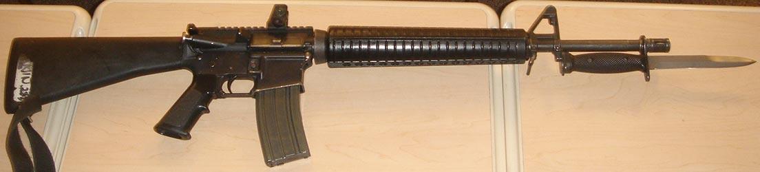 Fusil de asalto Diemaco C7A1 - 5.,56 mm (Canada)