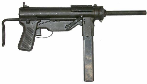 Subfusiles M3 y M3A1 El Engrasador, 1942 (EE UU)