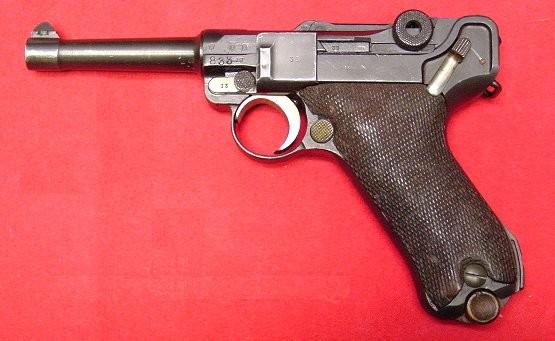 Pistola Luger Parabellum modelo 1908 (P08), Alemania