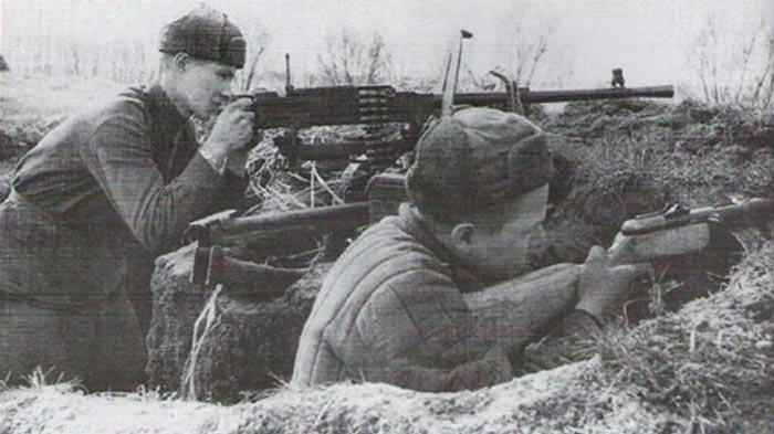 Ametralladora pesada 7.62 mm Goryunov SG-43, 1943 (Russia)