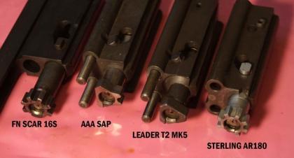 Затворы винтовок с коротким ходом поршня