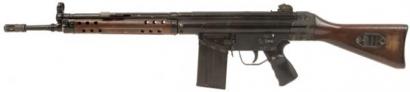Автоматическая винтовка CETME/G3 под патрон 7,62х51мм, Испания