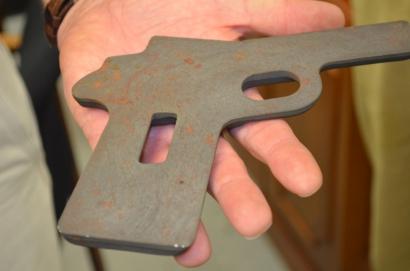 Заготовка рамы пистолета Кольт М1911