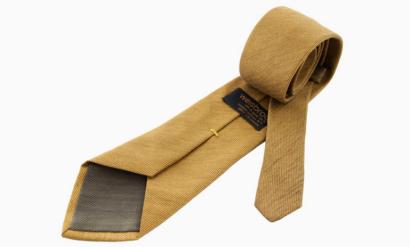 Галстук с вплетенным в ткань золотом