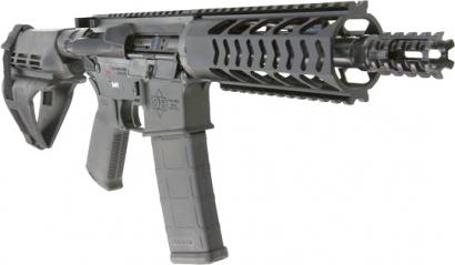 Пистолет Diamondback Firearms DB15 со стабилизирующим браслетом