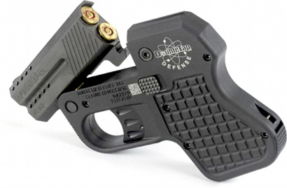 Малогабаритный двуствольный пистолет DoubleTap