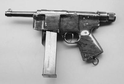 Пистолет-пулемет HAFDASA C-2