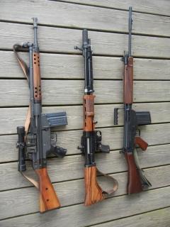 Автоматические винтовки  G3, FG42, FN FAL