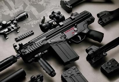 Автоматическая винтовка G3 для подразделений коммандос