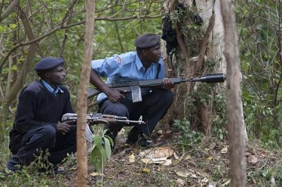 Автоматическая винтовка G3 в Кении