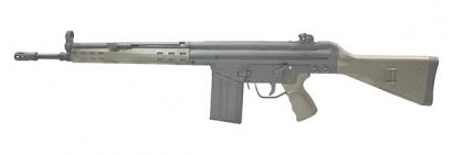 Автоматическая винтовка G3 с деревянным прикладом