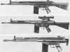 Различные варианты автоматической винтовки G3