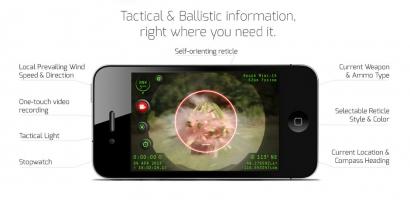 Так выглядят результаты стрельбы на экране iPhone