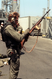Автоматическая винтовка M14 под патрон 7,62х51мм NATO, США