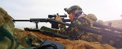 Michael Golembesky и Винтовка Elvis Barrett M107 SASR