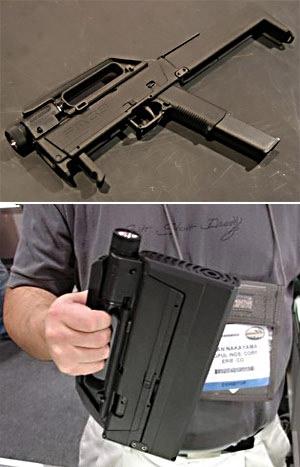 Складной пистолет Magpul FMG-9 (США)