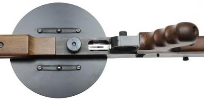 Пистолет-пулемет  AM180 вид снизу