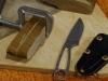 Изготовление ножа из приклада карабина ВЕПРЬ