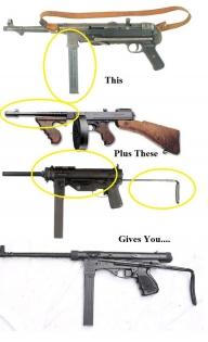 Vigneron-MP40-Tommy_gun-M3