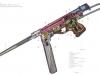 Устройство пистолета-пулемета Vigneron