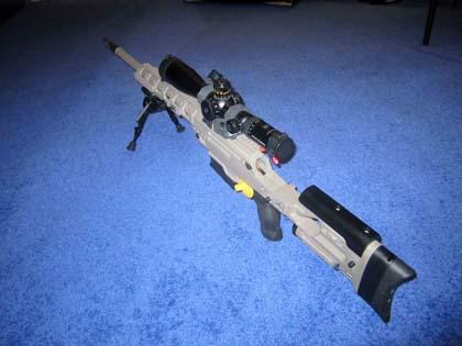 Разнокалиберная, модульная снайперская винтовка FNH Ballista Sniper Rifle