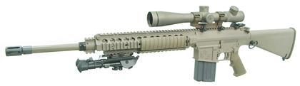 Полуавтоматическая снайперская винтовка М110 SASS (Semi-Automatic Sniper System), США