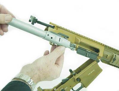 Затворная группа винтовки М110 SASS