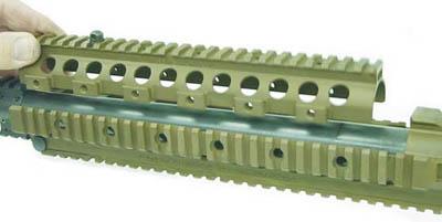 Цевье винтовки M110 SASS составное, съемное