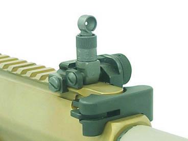 Складной целик винтовки М110 SASS