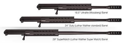 Семейство снайперских винтовок Tactilite T1&T2 ZEL CUSTOM MANUFACTURING