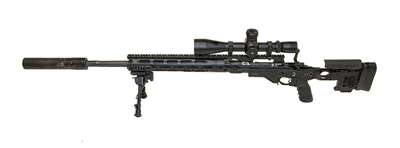 Снайперская винтовка XM2010 Enhanced Sniper Rifle (ESR), США. Вид слева