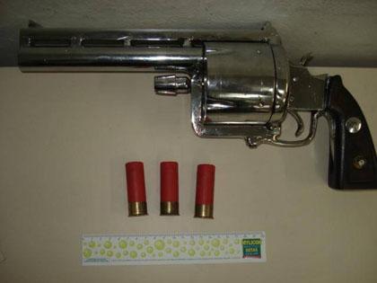 Револьвер 12-го калибра из Бразилии