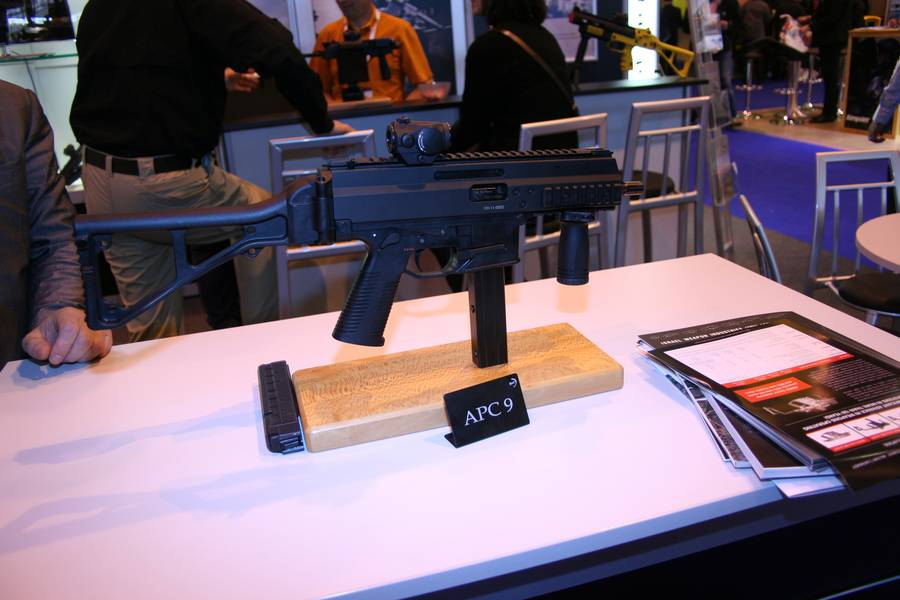 9мм пистолет-пулемет B&T APC9