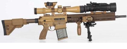 Снайперская винтовка G28 Designated Marksman Rifle. Обзор зарубежных снайперских систем