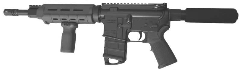 Пистолет от компании Franklin Armory XO-26b под патрон 7.62х39мм