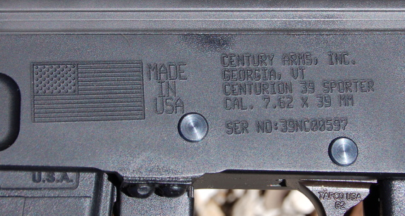model 39 made in USA