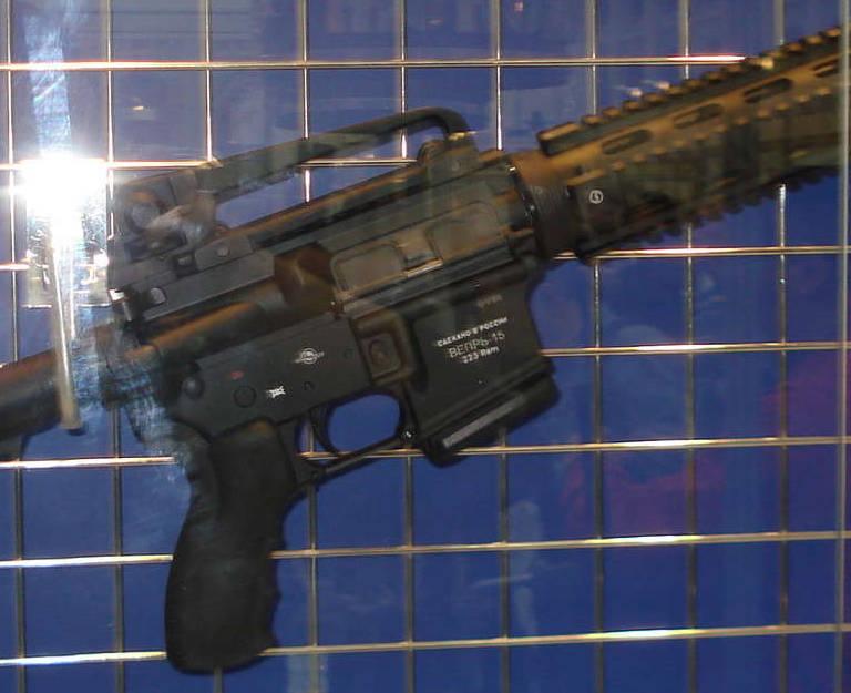 Самозарядный охотничий карабин Вепрь-15 (ВПО-140). Российская версия американской винтовки AR-15
