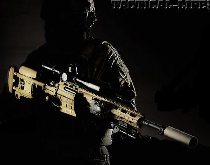 SAKO TRM-G M10 модульная снайперская винтовка из Финляндии
