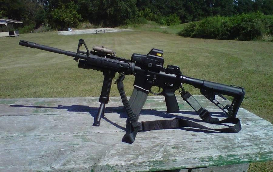 Новый приклад Colt Super-Stoc от компании Colt Defense