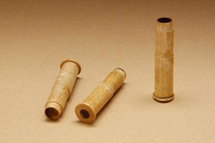 Деревянные патроны к деревянному Нагану