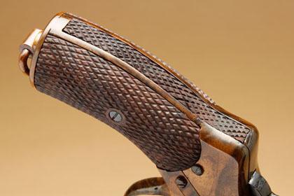 Рукоятка деревянного Нагана