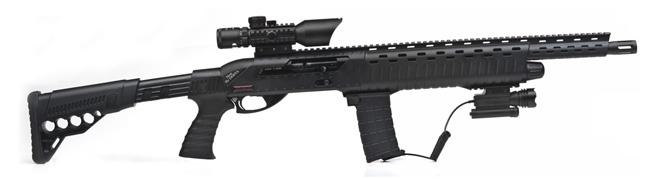 Турецкий дробовик ANAKON в стиле винтовки М16
