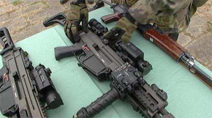 Чешская модульная штурмовая винтовка BREN Česká Zbrojovka и автомат CZ58
