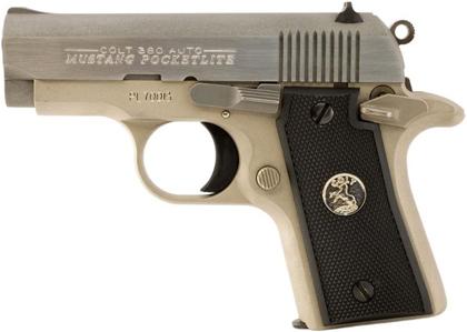 Карманный пистолет Colt .380 Mustang Pocketlite