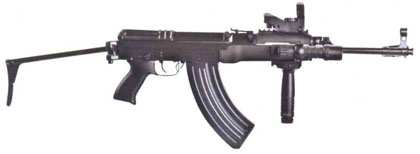 Чехословацкий автомат CZ SA Vz.58