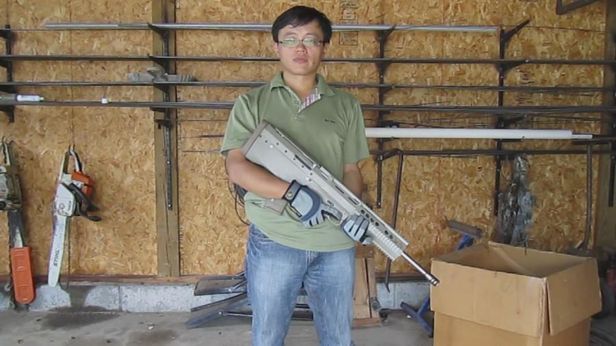 Самодельная винтовка по схеме буллпап на платформе AR15