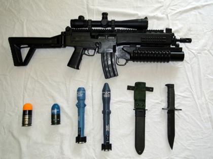 Бразильская штурмовая винтовка IMBEL IA2